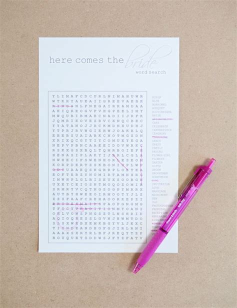 Wedding Search by Free Diy Wedding Word Search Printable Word Search