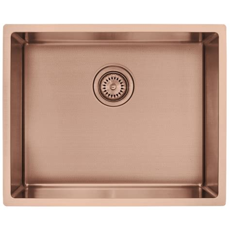 copper undermount kitchen sink decorium copper single bowl sink inset undermount