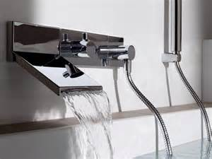 Bath Shower Tap Wall Mount Waterfall Faucet For Stylish Bathroom By