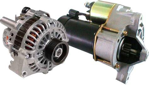alternator  starters engine