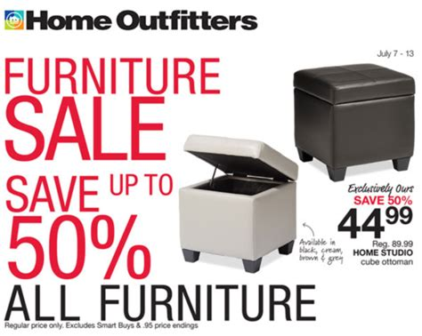 Ottoman Home Outfitters Home Outfitters Canada Deals Save Up To 50 All Furniture More Flyers Deals 25