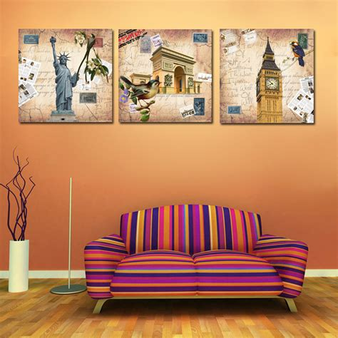 cheap home decor nyc online get cheap paris oil paintings canvas aliexpress