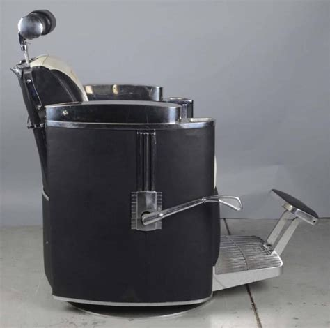 Koken Barber Chair For Sale by 1950s Mad Era Koken President Barber Chair For Sale At