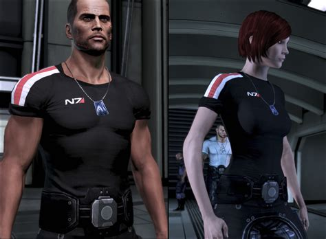 Tshirt Evil Army Best Quality modded casual n7 shirt at mass effect 3 nexus
