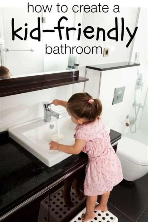 kid friendly bathroom ideas for kids toddlers and sinks on pinterest