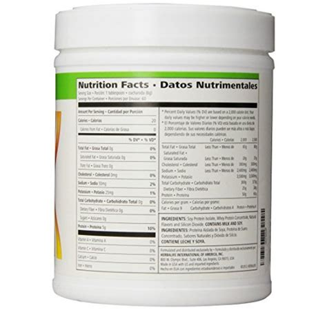 Herbalife Whey Protein whey protein e shake herbalife