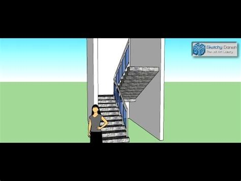 google sketchup stairs tutorial google sketchup demonstrations and tutorials 7 farm h