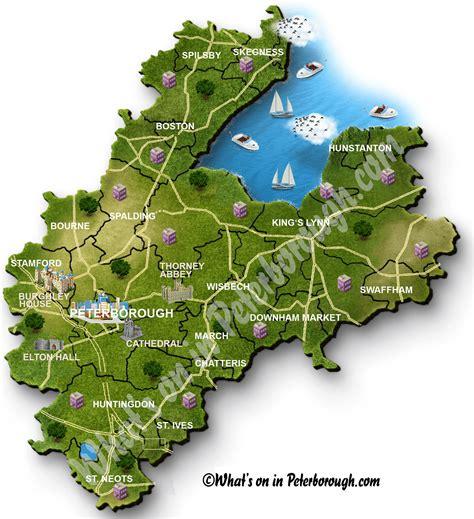 map  peterborough
