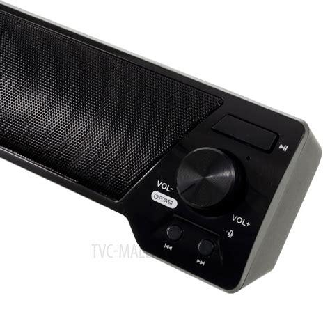 Bluetooth Speaker Mega Bass S206 soundbar lp 09 wireless mega bass bluetooth speaker with mic support fm tf card u disk aux