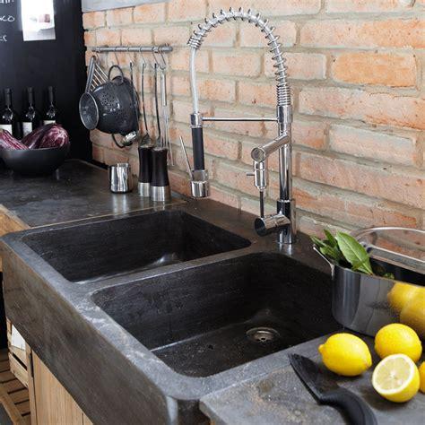 lavello cucina 90 cm mobile con lavello 90 cm pagnol pagnol maisons du monde