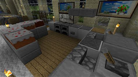 minecraft furniture ideas homedesign livingrooms room ideas