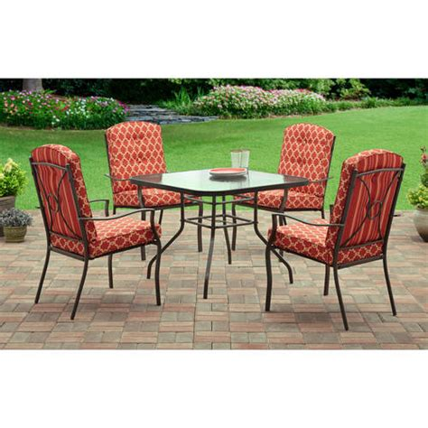 28 walmart patio furniture mainstays 4 piece wicker