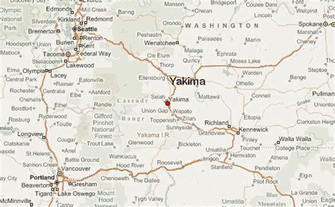 map usa yakima yakima location guide