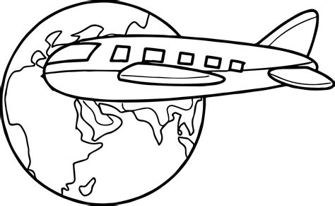 travel coloring page to sketch coloring page