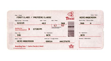 plane ticket template giving someone a trip check out these plane ticket