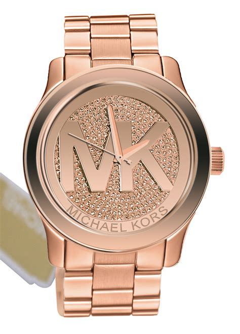 Michael Kors Mk032 Rosegold C michael kors gold search jewels michael kors