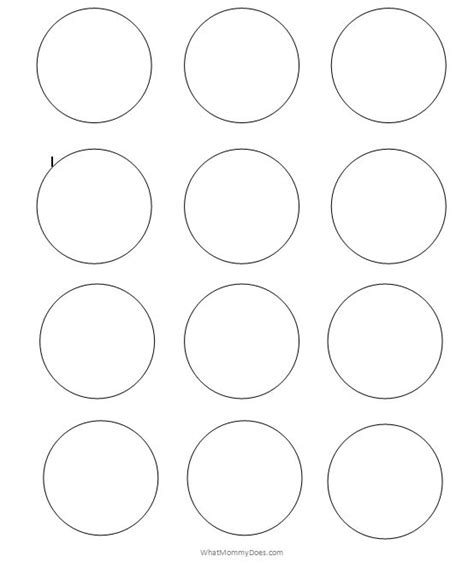 combo circle template number names worksheets 187 circles template free