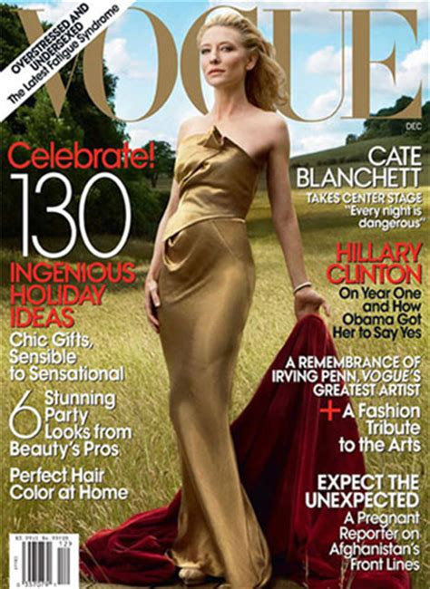 Green Vogues December Cover On The Carpet At The Golden Compass Ny Premiere cate blanchett for vogue us december 2009 carpet