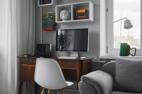 ordinary Small Apartment Living Room Ideas #5: Small-Bachelor-Pad-Idea-Designed-in-a-Modern-Retro-Style-homesthetics-11.jpg