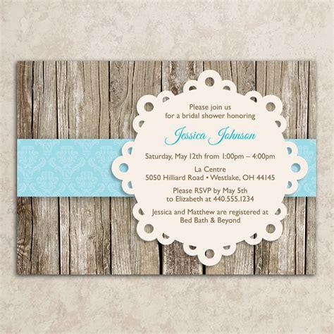 diy vintage baby shower invitations rustic bridal shower invitation vintage bridal shower