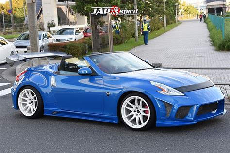 nissan fairlady 2016 stancenation 2016 nissan fairlady z34 convertible
