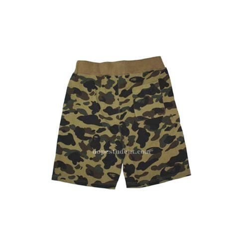 Green Camo Bape bape green camo shark shorts dopestudent