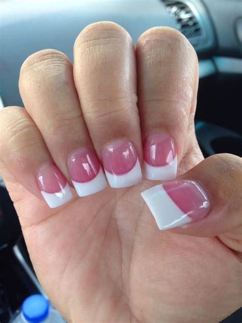 how to do solar nails at home solar nails w pink powder perfectly done yelp