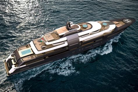 concept design yacht zsyd yacht concept 90m yacht charter superyacht news