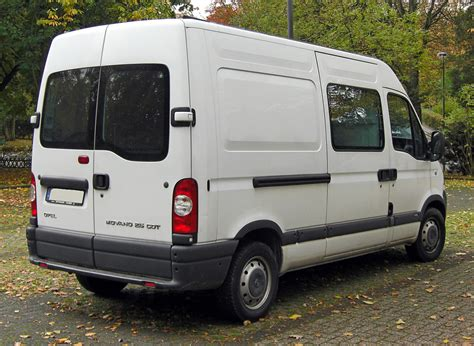 File Opel Movano Rear 20091025 Jpg Wikimedia Commons