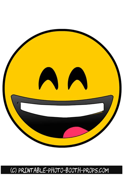 free printable emoji photo booth props 20 free printable emojis photo booth props