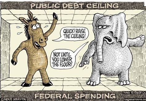 debt ceiling political cartoons are we heading toward another grand bargain crooks and