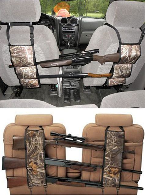 best hunting gifts check out this camouflage seat back gun rack it effortlessly hang across the seat back in suv