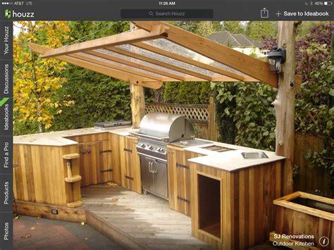 Simple Outdoor Kitchen House Ideas