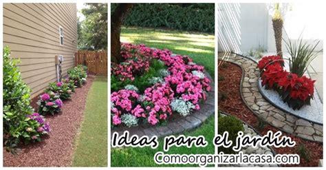 como decorar jardines frontales jardines frontales con flores