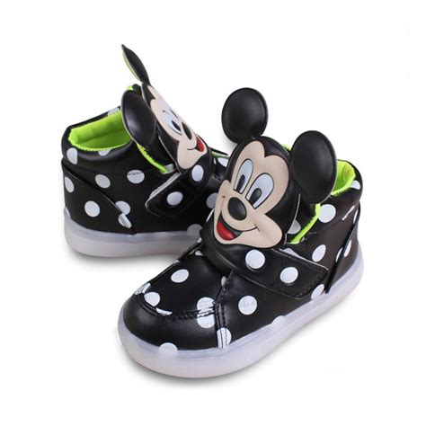 Shoes Mickey Led mickey mouse baby toddler led lights baby