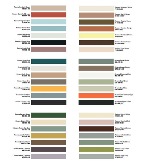 modern colour midcentury modern color palette mid century modern