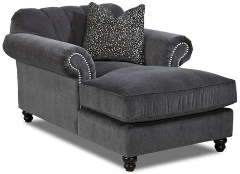 traditional button tufted sofa klaussner flynn traditional chaise with button tufted back