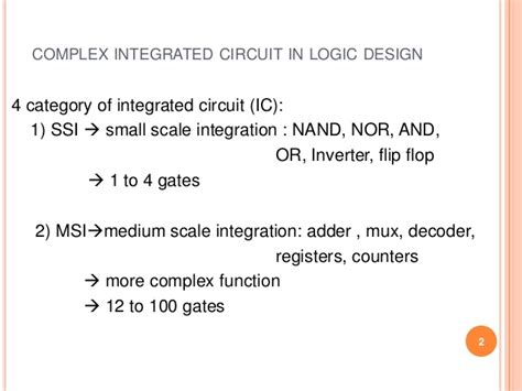 identify integrated circuits ic s that implement gates for the computer systems integrated circuit ssi 28 images logic gate implementing without using ics by nimay giri