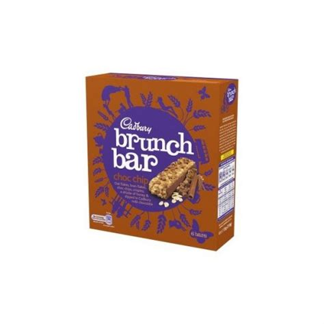 Cadbury Brunch Bar Choc Chip cadbury brunch bar 6 pack 99p quality save hotukdeals
