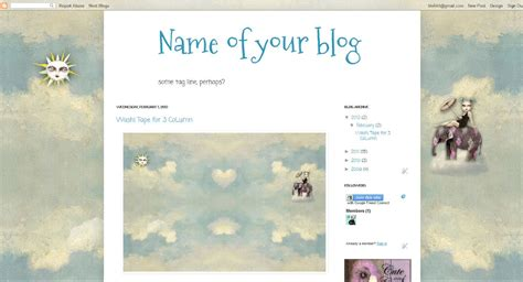 blog layout type artisteer cute n cool backgrounds how to use background images