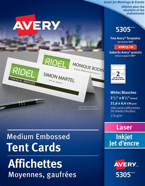 office depot medium tent cards template avery table tents 2 per sheet best table decoration