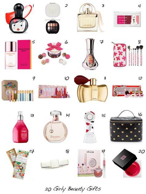 20 beauty gift ideas for the ultimate girly girl