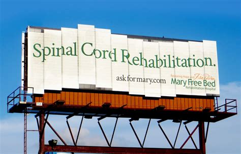 mary free bed mary free bed rehabilitation hospital billboards gute werbung