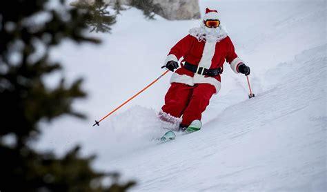 santa  elves ski   taos  calendar