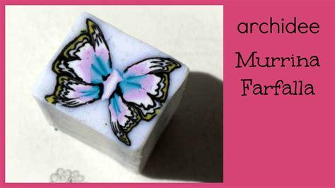 tutorial ali di farfalla in fimo tutorial polymer clay diy butterfly millefiori cane