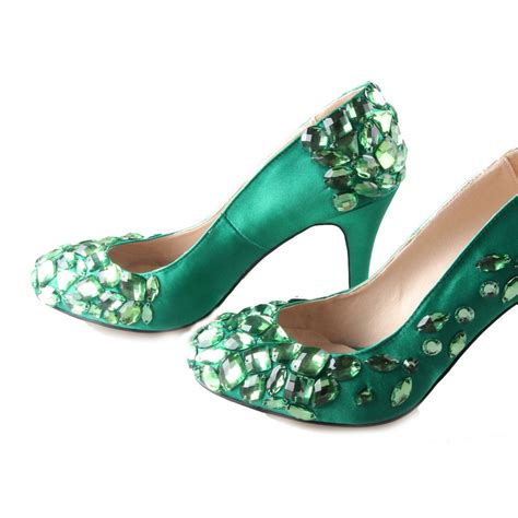 Wedding Shoes Green by Green High Heels Wedding 28 Images Simple Green