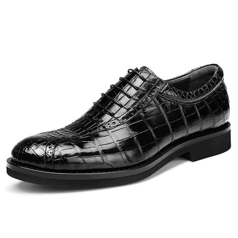 Genuine Leather Dress Shoes genuine alligator leather dress shoes