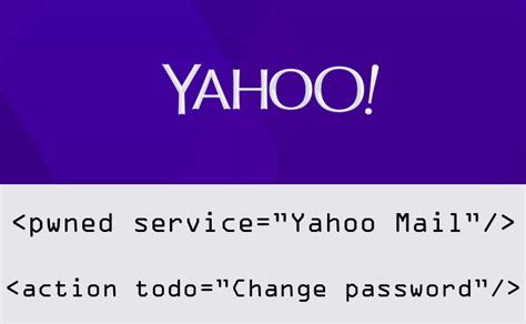yahoo email was hacked yahoo mail hacked change your account password immediately