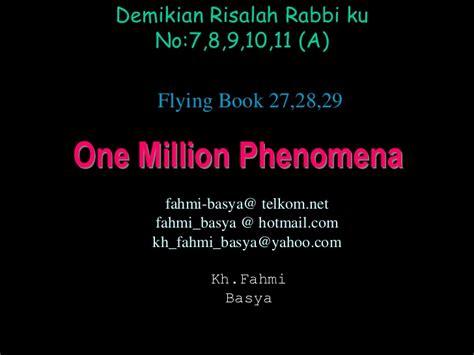 One Million Phenomena one million phenomena 7891011 a