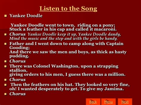 why did yankee doodle name the feather in his hat macaroni yankee doodle